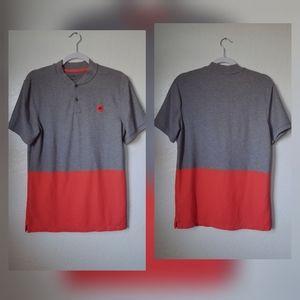 Nike Golf   Modern Dri Fit Collarless Shirt Sz M
